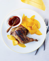 Mexican Recipes: Yucatán Chicken with Orange-Guajillo Glaze