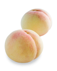 Alice Waters: White Peaches