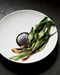 International Chef Christian Puglisi's Onions with a Burned Onion Puree