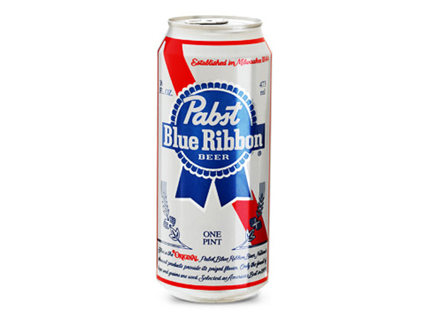 Pabst Blue Ribbon Beer. Courtesy of Pabst Brewing Company.