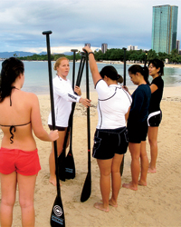 Healthy Vacations: Surf Lessons in Honolulu