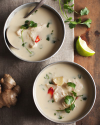 © Rick Poon / Thai Chicken Soup