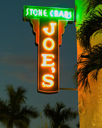 Miami Restaurants: Joe's Stone Crab