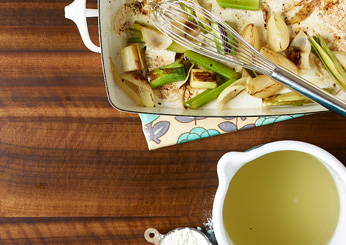 Small-Batch Chicken Stock