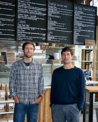 Melrose Market Homegrown Owners Brad Gillis and Ben Friedman
