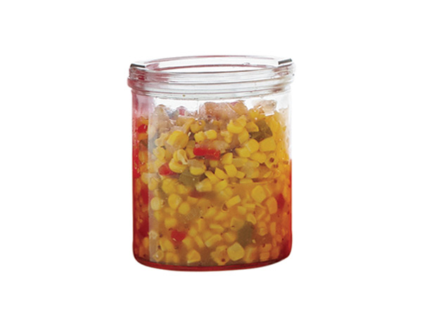 This fresh, jalapeño-spiked relish offers pure corn flavor without all the heavy seasonings found in jarred versions. / © Petrina Tinslay