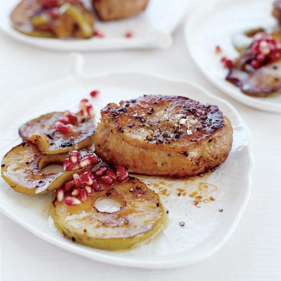 Pork Chops with Sautéed Apples