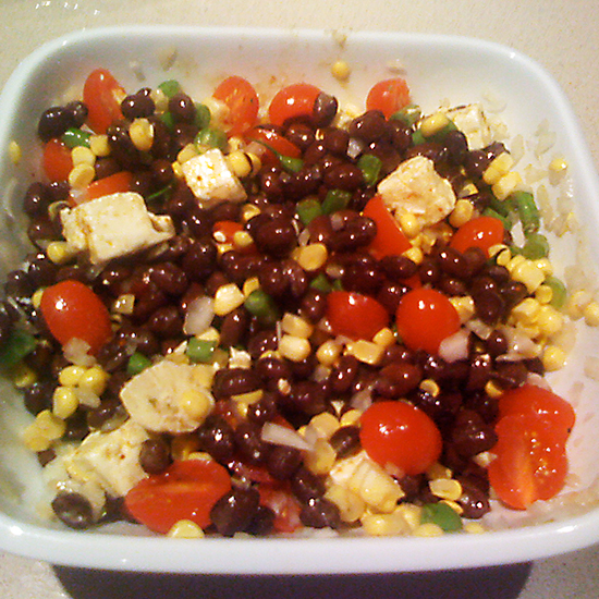 Corn and Bean Salad