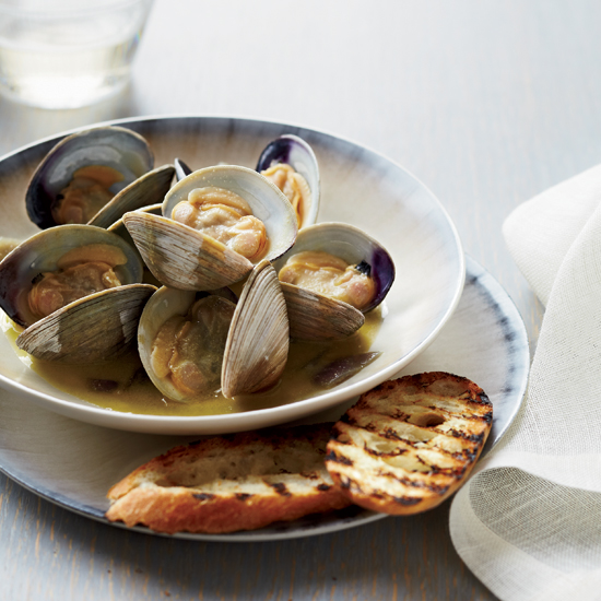Foie Gras –Steamed Clams