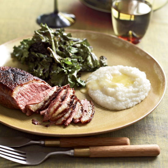 Sugar –and –Spice Skillet-–Roasted Duck Breasts
