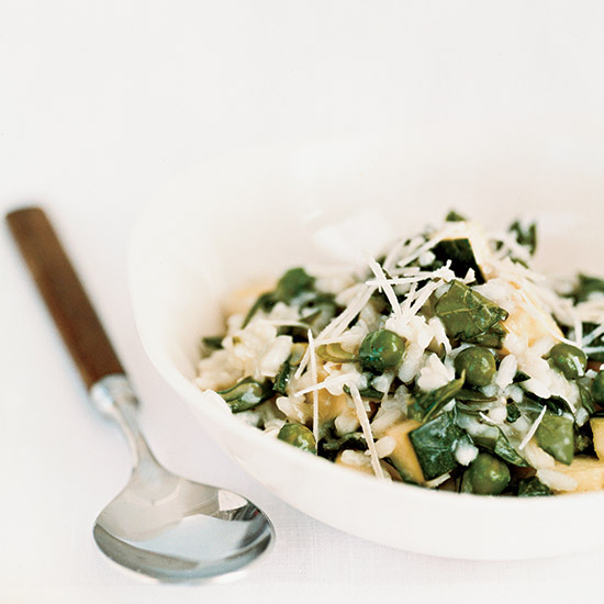 Greek-Style Vegetable Risotto