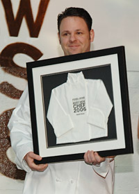 2006 Best New Chef Cathal Armstrong (Restaurant Eve, Alexandria).