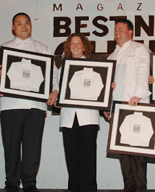 2006 Best New Chefs <a href='/bestnewchefs/?year=2006&chef=B27E2668-721D-43E4-950D7895694244F7'>David Chang</a> (Momofuku, NYC), <a href='/bestnewchefs/?year=2006&chef=C5BEC90E-206F-4B65-B732510A58A08DDC'>Mary Dumont</a> (The Dunaway Restaurant, Portsmout