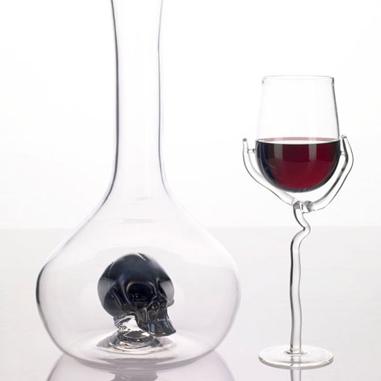 """Morte"" decanter by Esque Studio"