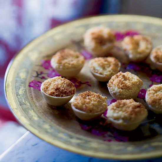 Oyster Tartlets Recipe from New Orleans Chef John Besh