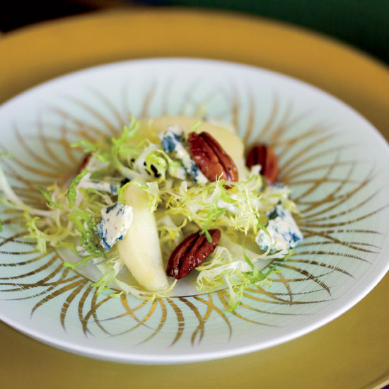 Chicory Salad with Quince and Pecans