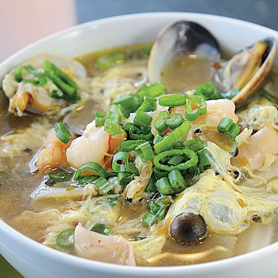 Spicy Seafood Soup: Heaven's Dog, San Francisco