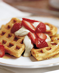 Brunch Recipes: Waffles