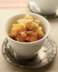 Sweet Semolina and Dried-Apricot Pilaf