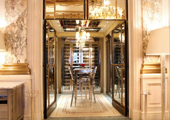 Paris: Restaurant le Meurice, at Le Meurice