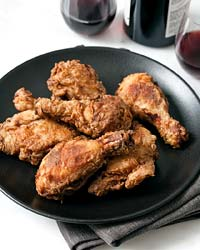 Supercrispy Pan-Fried Chicken