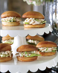 Crab Rolls with Lemon Aioli