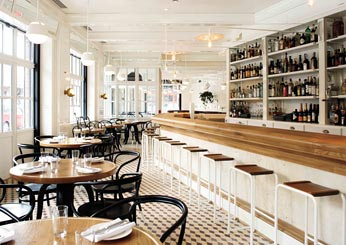 NYC's Great New Hotel Restaurants & Bars: The Standard Grill