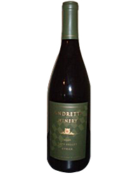 Andretti Winery Napa Valley Syrah