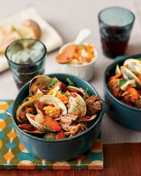 Braised Pork with Clams