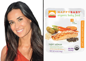 Demi Moore: Happyfamily Organic Baby Food