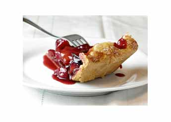 Port and Plum Crostata