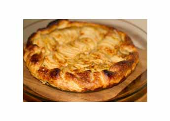 Rustic Apple Tarte with Rosemary