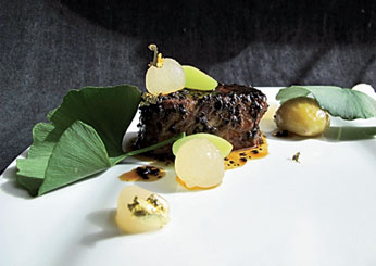 Beef with Winter Treasures: Benu, San Francisco