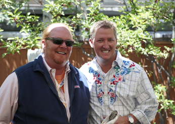 Mario Batali and Tim Love
