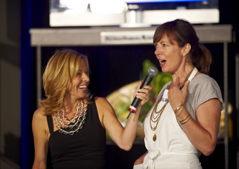 Sissy Biggers checks in with Allison Janney