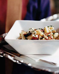 Recipes from the French Masters like Pasta Shells with Artichoke Cream and Smoked Chicken
