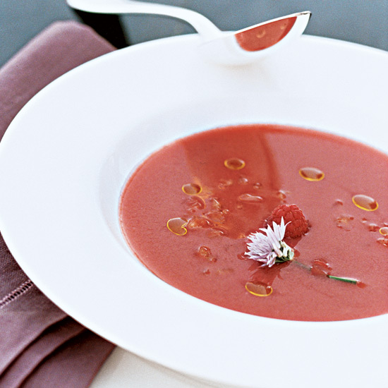 Day 15: Strawberry, Tomato and Fennel Gazpacho
