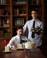 Lessons from Cake Experts Matt Lewis and Renato Poliafito