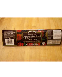 Bacon tast test: Trader Joe's Uncured Apple Smoked