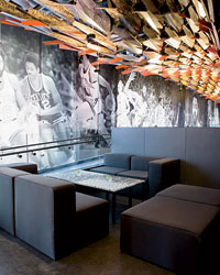 Walt Frazier's New York City restaurant.