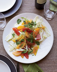 Healthy Fennel and Citrus Salad with Mint
