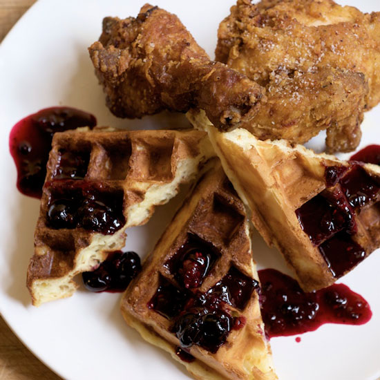 Fried Chicken & Waffles: Simpatica; Portland, OR