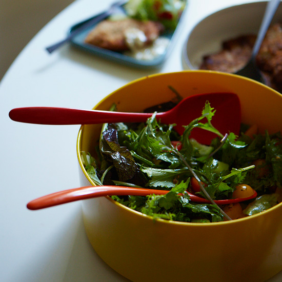 Green Salad with Italian Vinaigrette
