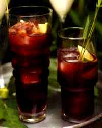 Fall Produce: Pomegranate Caipirinhas