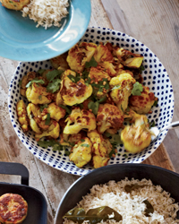 Roasted Cauliflower with Turmeric and Cumin