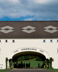 Ommegang Brewery Café