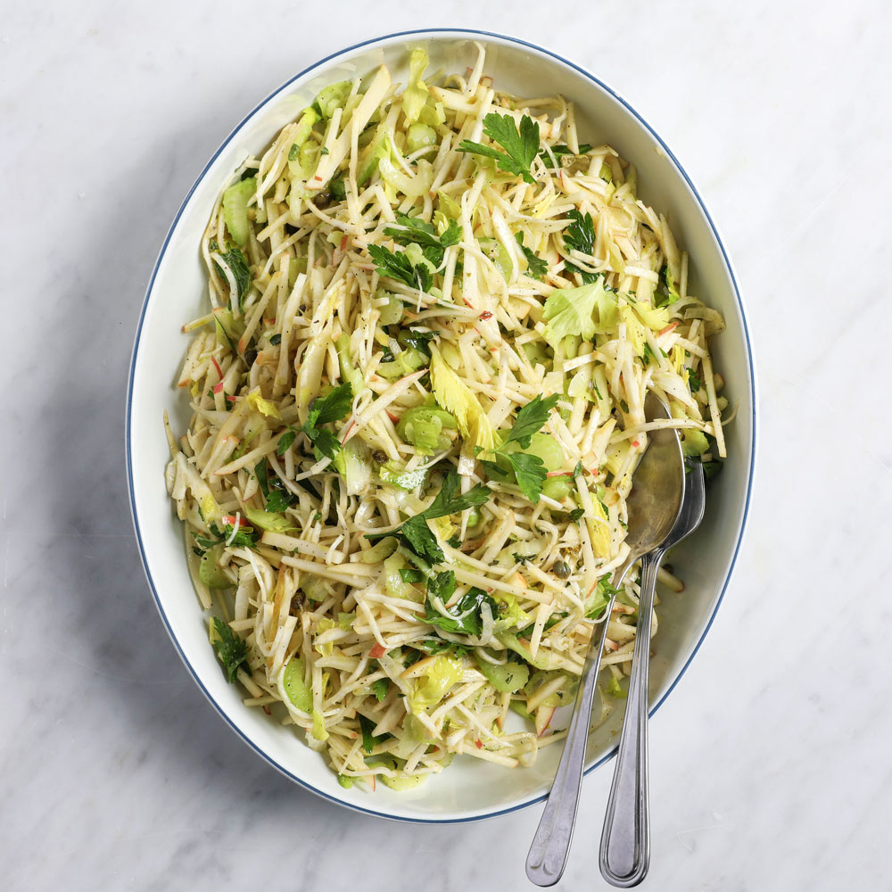 Celery Root, Apple and Fennel Slaw Recipe - Colby Garrelts ...