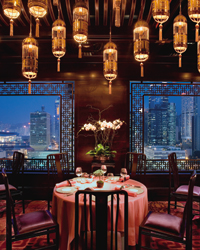 Amber Restaurant at the Landmark Mandarin Oriental