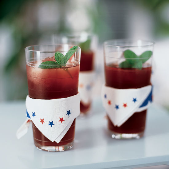 Black Cherry Iced Tea