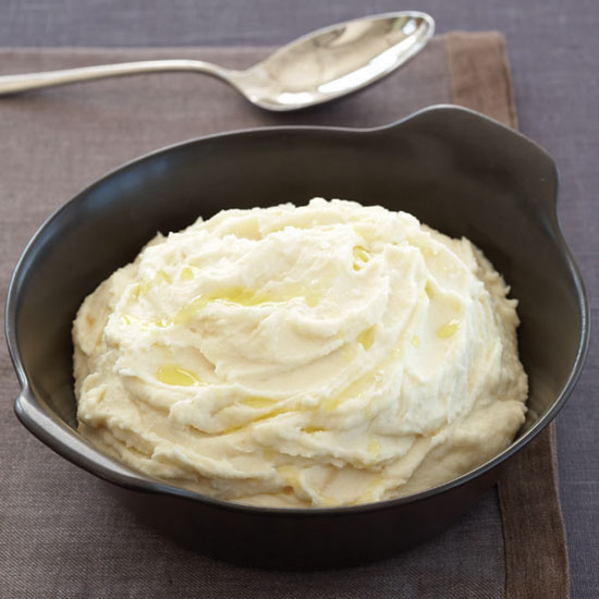 Mashed Potatoes with Manchego and Olive Oil
